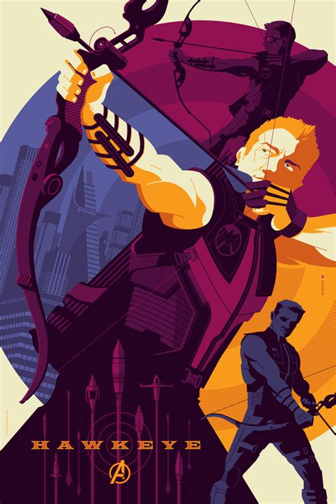 film marvel hawkeye mondo assembles marvel s the avengers with 7 posters we