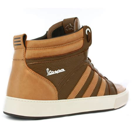 adidas vespa px 2 mid brown mens new trainers shoes ebay