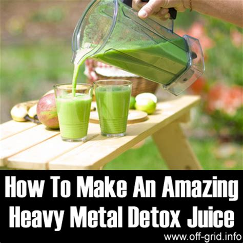 Heavy Metal Detox Juice by How To Make An Amazing Heavy Metal Detox Juice Grid