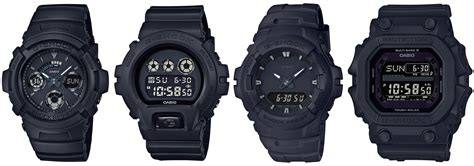 G Shock Series Black g shock black out basic series gxw 56bb 1jf dw 6900bb 1