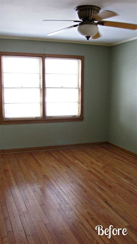 brown trim  gray paint  painted  walls