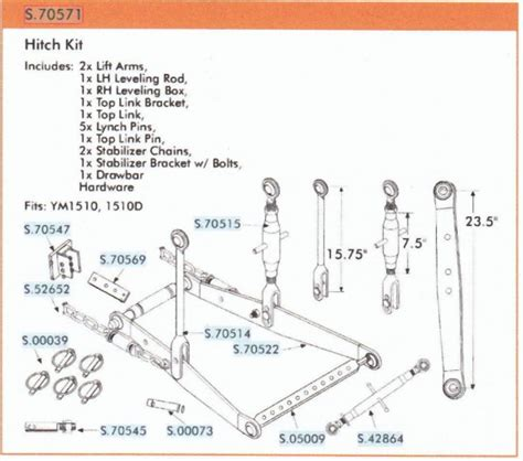 3 point hitch dimensions diagram yanmar 3 point linkage aftermarket hodges farm equipment