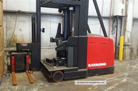 swing reach forklift 2000 raymond electric swing reach forklift 3000 lbs model