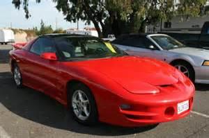 99 Pontiac Firebird 1999 Pontiac Trans Am For Sale By Owner Sacramento Ca