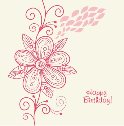 printable flowers for cards printable happy birthday cards