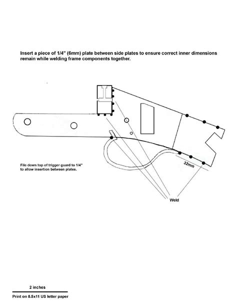 12 gun plans homemade break barrel 12 gauge shotgun construction plans