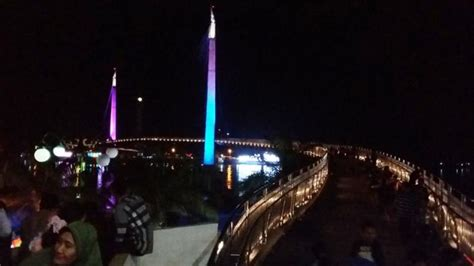 Hp Vivo Di Kota Jambi jembatan titian arasy ditutup ratusan warga jambi kecele