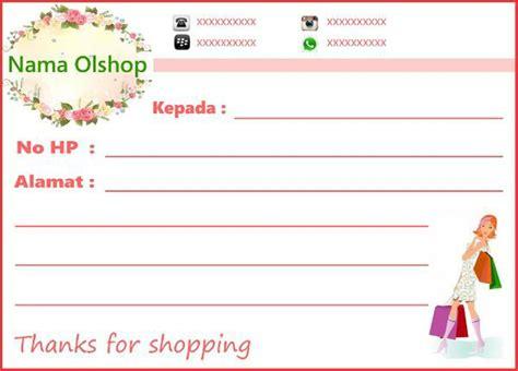 Stiker Sticker Label Pengiriman Olshop Murah Lb003 jual sticker shipping label pengiriman olshop di lapak