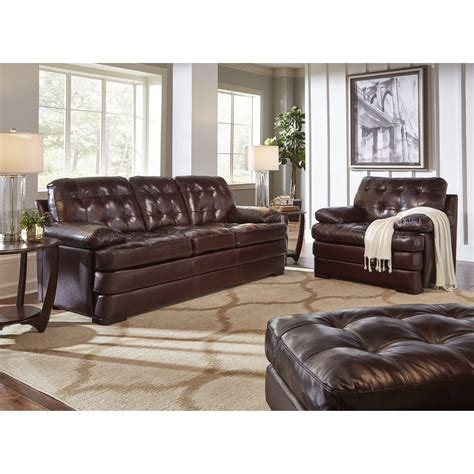 elements couch elements international salerno sofa with square tufted