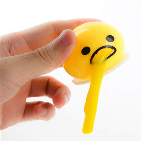 Lazy Gudetama Vomiting Slime In Plastic Package popular slime buy cheap slime lots from china slime suppliers on aliexpress