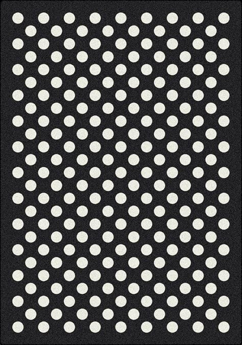 Polka Dot Area Rug with 5x8 Milliken Eclipse Black Modern Polka Dot Area Rug Approx 5 4 Quot X7 8 Quot Ebay