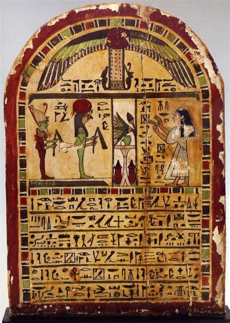 imagenes de estelas egipcias red tratamiento de la muerte en egipto