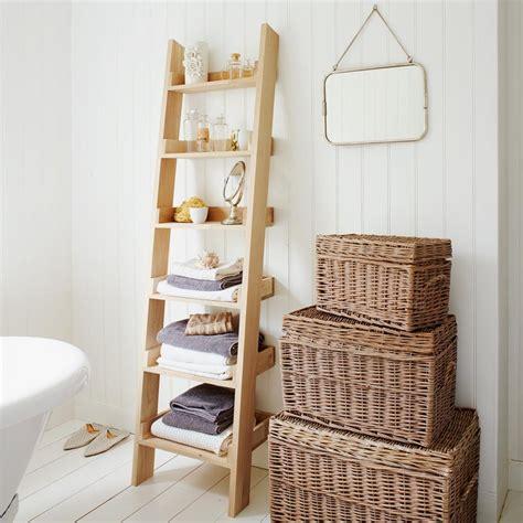 Oak shelf ladder furniture graham and green