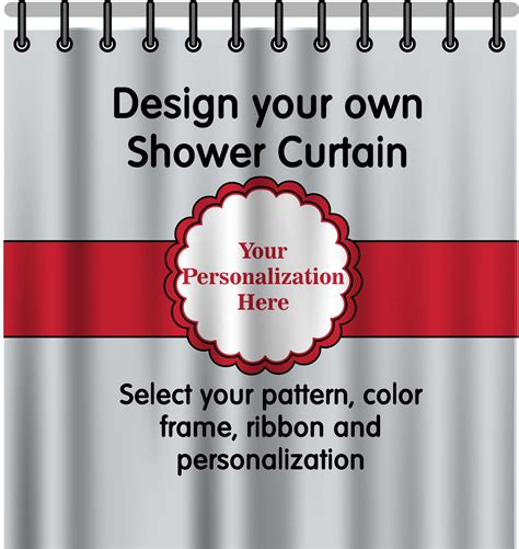 Personalized Shower Curtains Personalized Shower Curtain Potty Concepts