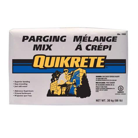 quikrete 30kg parging mix lowe s canada