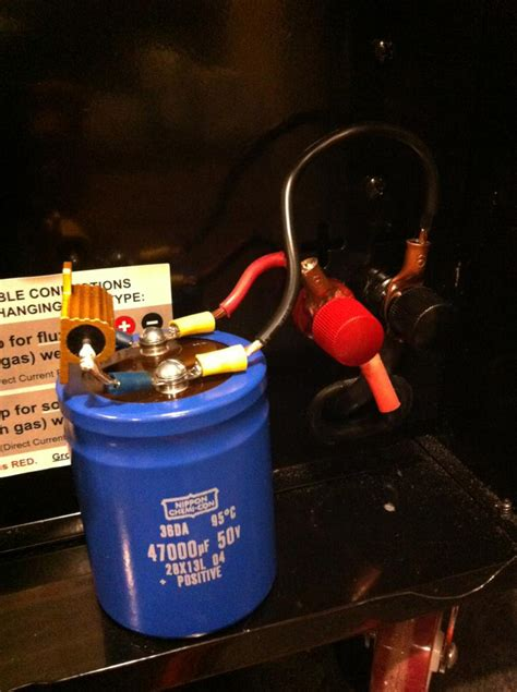 resistors harbor freight residual flash from wire if quot earthed quot mig welding forum