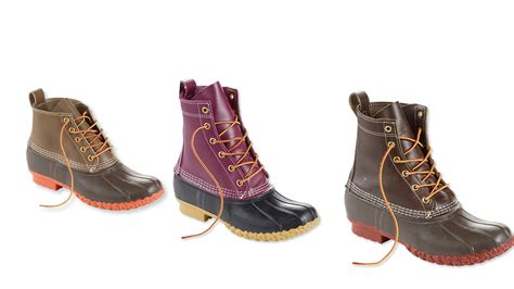 duck l l l bean s duck boots now come in new colors and styles