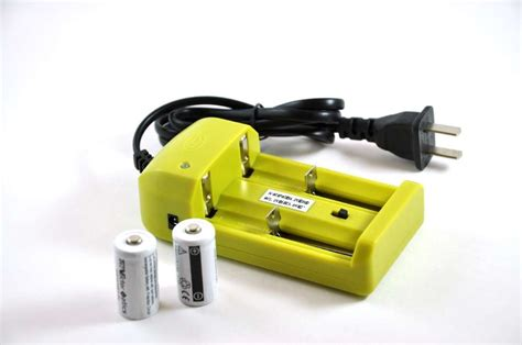 rcr123a charger 16340 rcr123a recharger kit