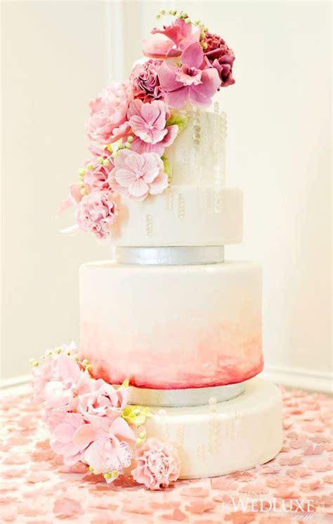 Sugar Wedding Cake Flowers by Luxury Blush Pink Swirls And Sugar Flowers Wedding Cake