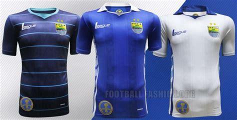 Jersey Persib Bandung Away 3rd Gold 2017 Liga Gojek Traveloka persib bandung 2015 league home away and third kits football fashion org