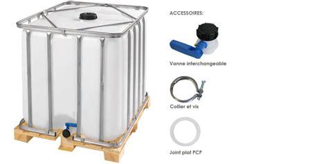 Raccordement Cuve Recuperation Eau De Pluie 3553 by Citerne R 233 Cup 233 Ration D Eau 1000 Litres Sur Palette En Bois