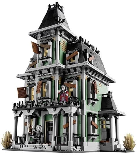 lego haunted house lego s first official haunted house my modern met
