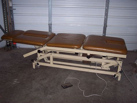 therapy tables for sale used chattanooga tre 33 physical therapy table for sale
