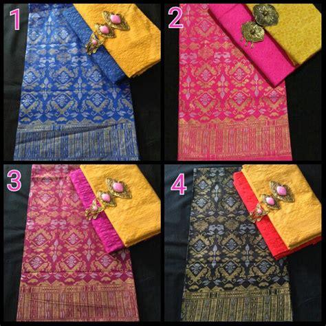Kain Batik Prada Dan Embos Batik Pekalongan Th33 1 paket kain prada dan kain embos ka3 3 batik pekalongan