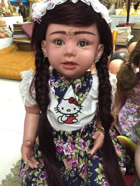 haunted dolls 1 from thailand are adopting creepy haunted dolls for