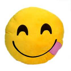 Smiley Pillows by Details About New Emoji Smiley Emoticon Yellow