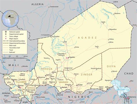 africa map niger niger capital city www pixshark images galleries