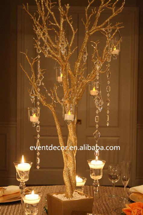 Diskon Dekorasi Natal Pohon Glitter Mini Tree rami di albero per le decorazioni di nozze d oro doratura