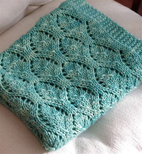 Pattern For Baby Blanket Knitting by Easy Baby Blanket Knitting Patterns In The Loop Knitting