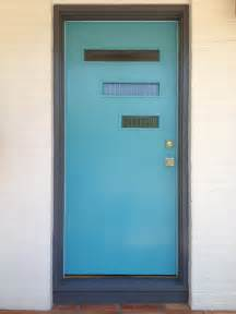 mid century doors on modern front door mid