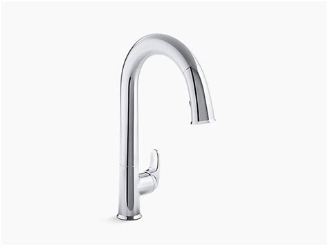 Sensate Touchless Kitchen Faucet k 72218 sensate touchless pull down kitchen sink faucet