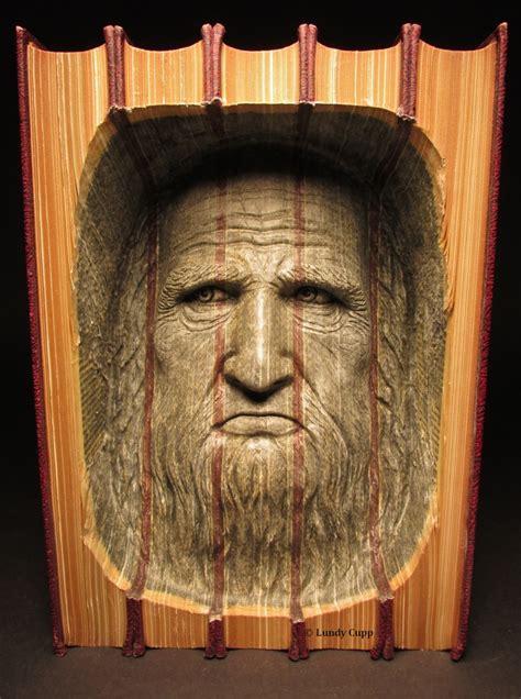 leonardo da vinci biography encyclopedia carved books woodcarving lundy cupp