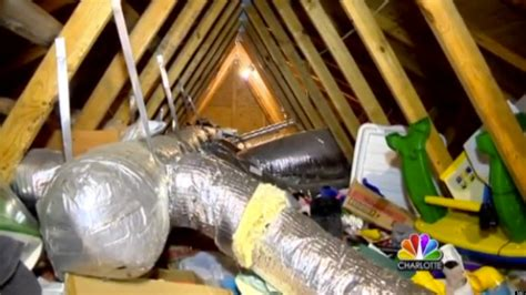 living in the attic finds ex boyfriend living in attic 12 years