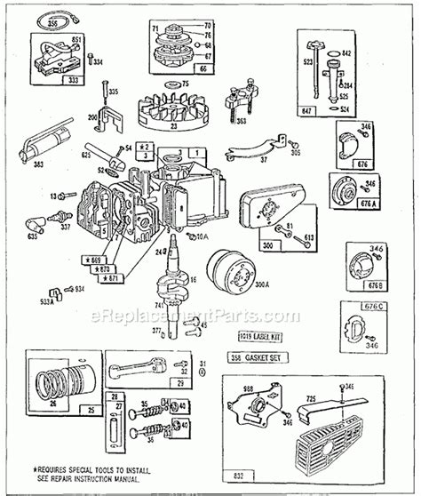briggs and stratton carburetor parts diagram briggs stratton engine parts manual anything about