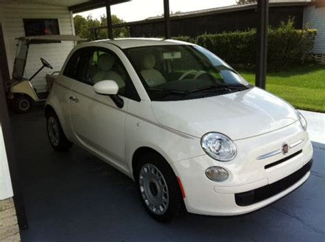 fast fiat 500 purchase used 2012 fiat 500 fast and dealer added