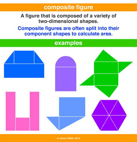 figure definition composite figure a maths dictionary for