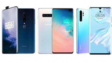 Samsung Galaxy S10 Vs Oneplus 7 Pro Gsmarena by Oneplus 7 Pro Vs Samsung Galaxy S10 Vs Huawei P30 Pro Price In India Specifications Compared