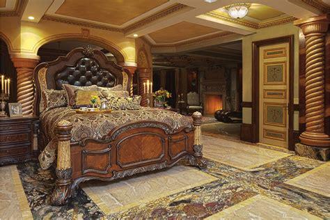 Michael Amini Dining Room Set Aico Victoria Palace Panel Bedroom Set 61000ekbed3 29