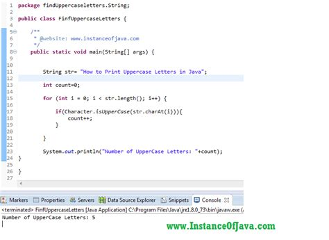 printing alphabet java java buzz forum how to find uppercase letters in a