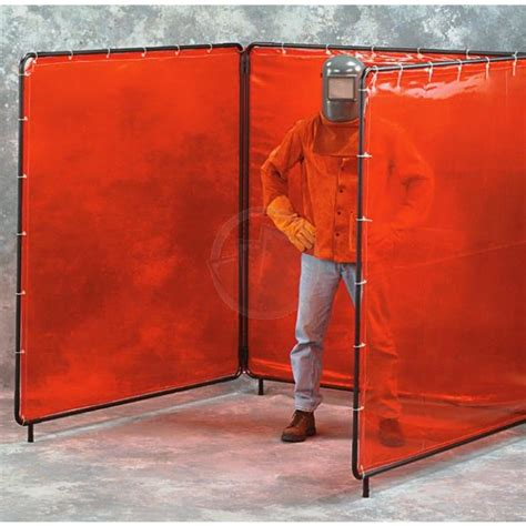 clear welding curtains clear portable welding screens