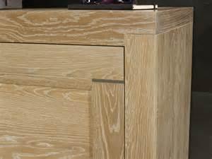 meuble tv 16 9 232 me thierry en ch 234 ne massif contemporain
