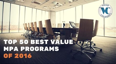 Best Value Mba Programs 2016 by Best Value Master S In Administration Programs Rankings