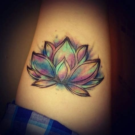 watercolor tattoos manchester 1000 ideas about lotus shoulder on