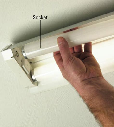 how to install or change fluorescent bulbs in recessed image gallery installing fluorescent light bulbs