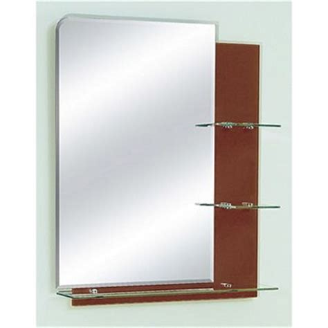 zhj26 bathroom mirror with glass shelves 26 quot x 32