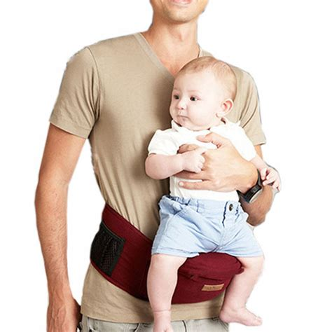 sling backpack with waist baby toddlers carrier waist stool walkers sling hold belt